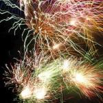 Mendip fireworks